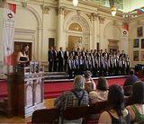 Хор мальчиков «Орлята» на Всемирной хоровой олимпиаде