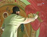 Роспись храма с помощью божьей