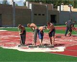 Строительство теннисного центра