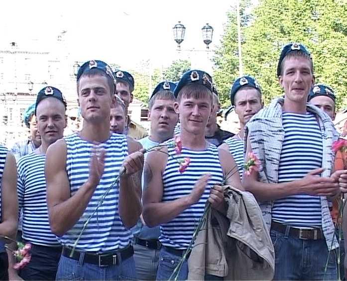 День воздушно - десантных войск в Кирове