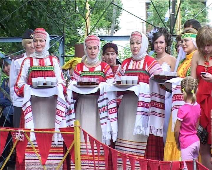 Праздник в поселке Зуевка