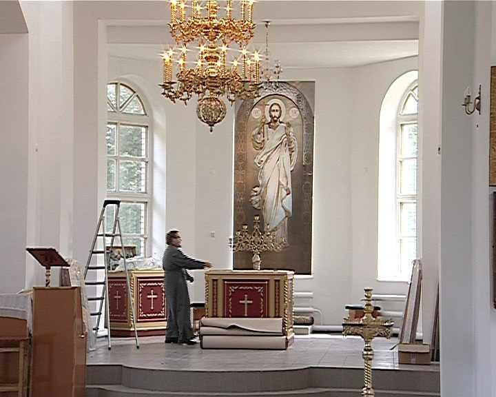 В Туже готовятся к освящению  храма