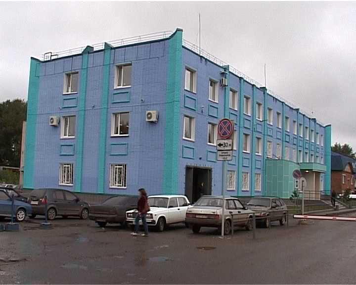 Обновленное здание межрайонного отдела технического осмотра и регистрации ГИБДД