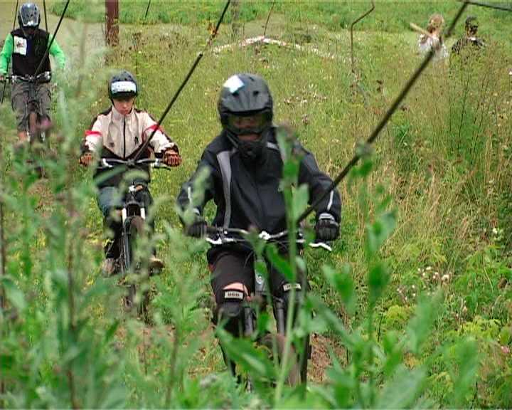 Соревнования по горному велосипеду