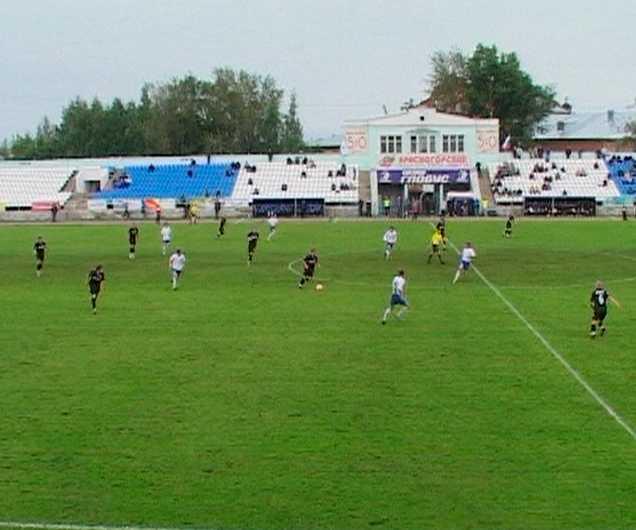 Встреча кировского «Динамо» и «Тюмени»