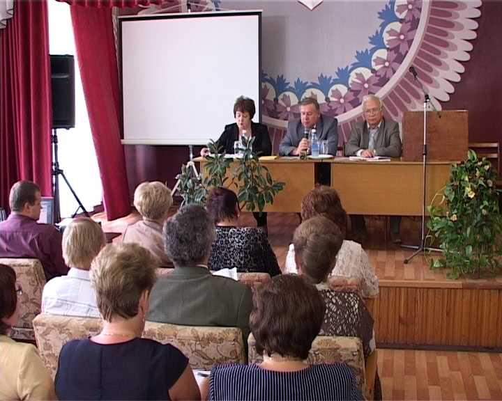 Августовский педсовет педагогов системы профобразования