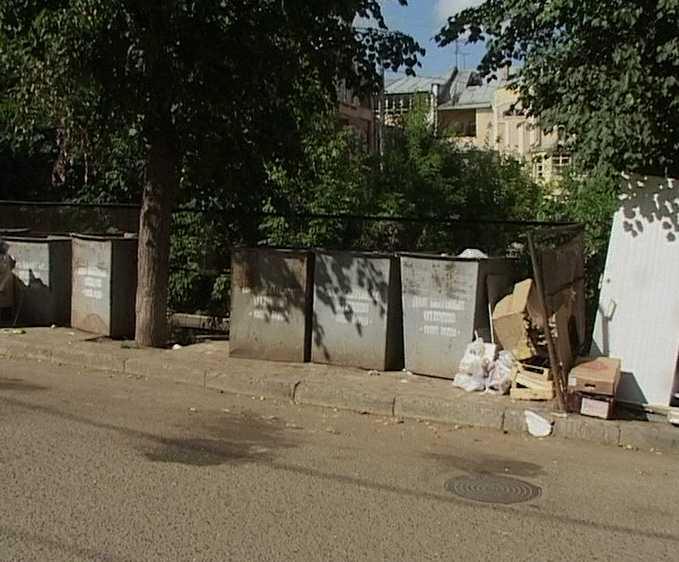 Состояние мусорных контейнерных площадок в областном центре