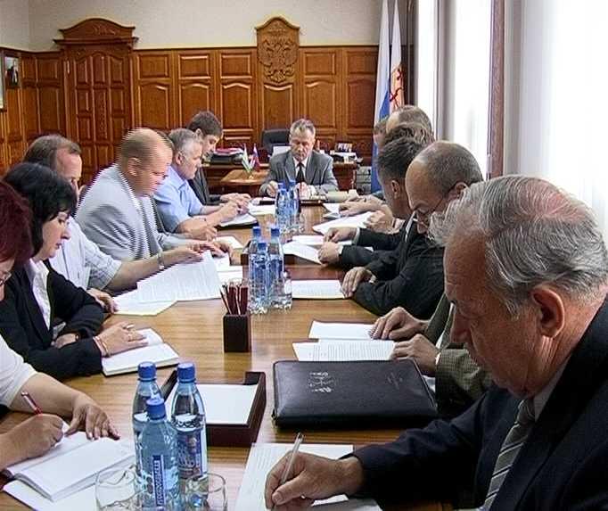 Оперативное совещание губернатора Кировской области
