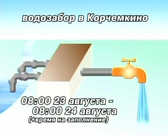 23 августа в городе Кирове не будет воды