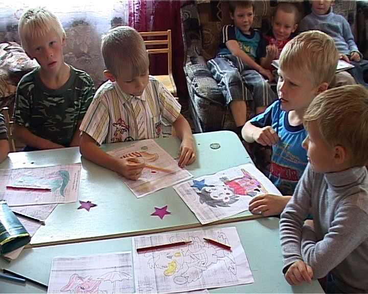 Смена будущих первоклассников в Верхнекамском  детском центре