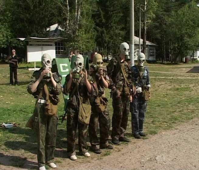 Областной слёт военно-патриотических клубов