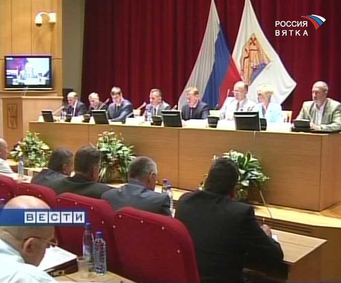 Рабочее совещание губернатора с главами муниципальных районов и городских округов