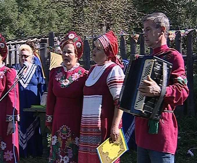 Праздник народного творчества  в Яранском районе