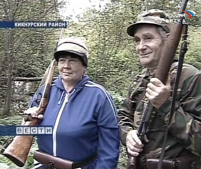 Семья охотников из Кикнурского района