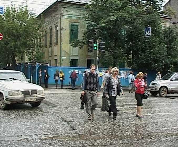 Проверка состояния пешеходных переходов