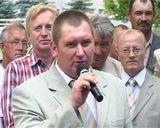 Открытие памятника  - мемориала в Зуевке