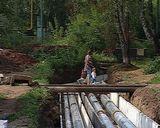 Замена теплотрассы в Нововятске