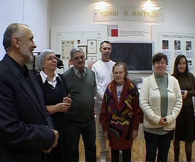 Вручение наград сотрудникам ГТРК