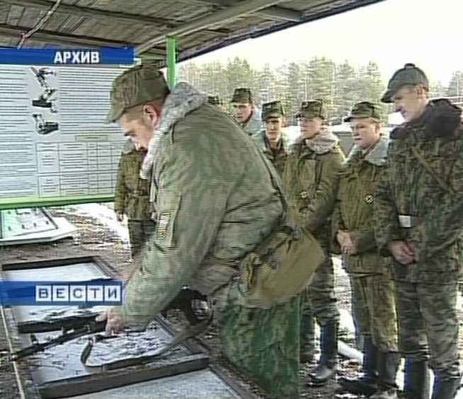 Масштабные учения военных