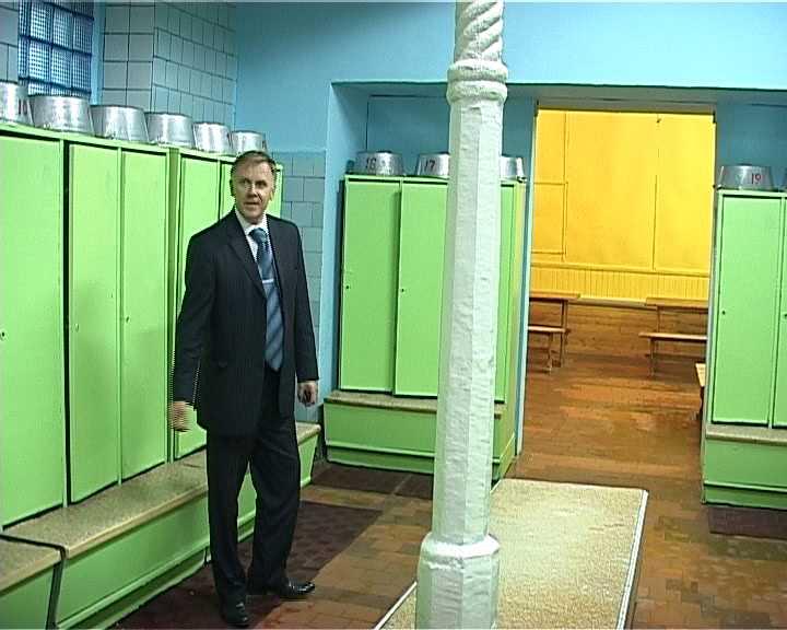 Реконструкция Центральных бань города Кирова