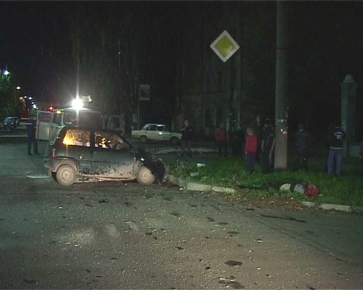 Авария на улице Красноармейской