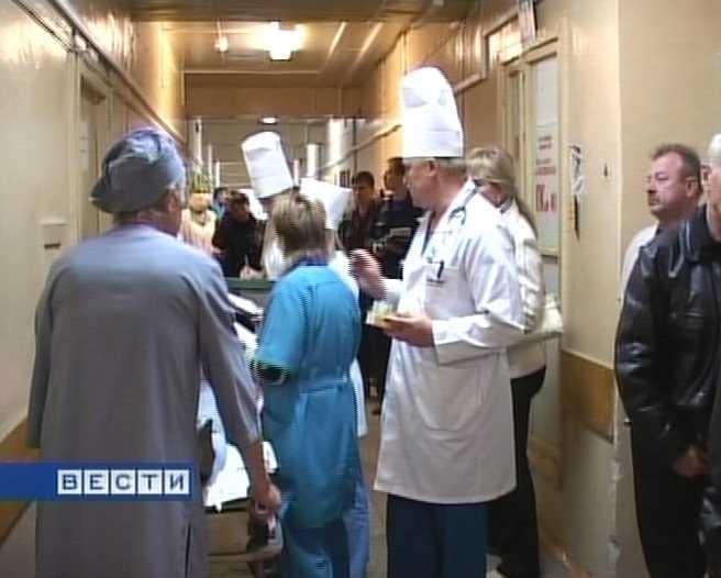 Тактические учения в областной клинической больнице