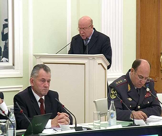 Заседание Совета при полномочном представителе Президента РФ в Приволжском федеральном округе