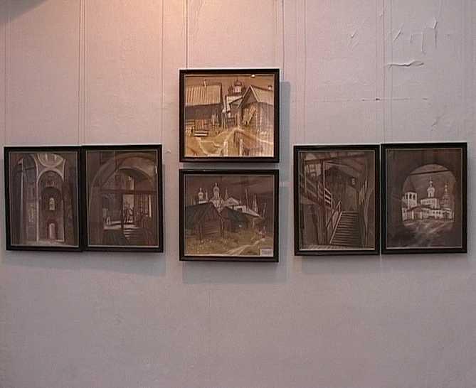 Выставка династии художников Рыбаковых