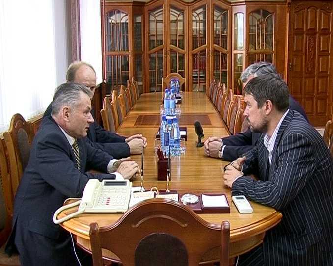 Рабочая  встреча губернатора с исполнительным вице-президентом «Комплексных энергетических систем»