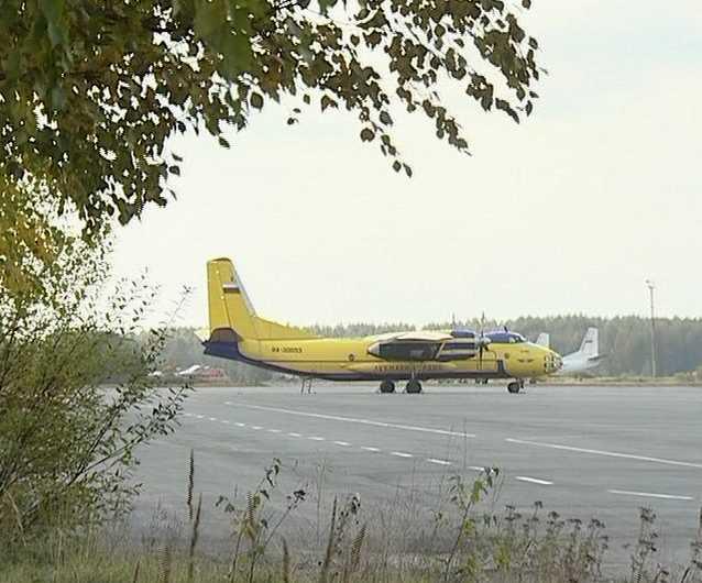 Посадка самолета в условиях грозы завершилась благополучно