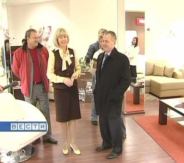 Губернатор  посетил преуспевающую  компанию по производству мебели