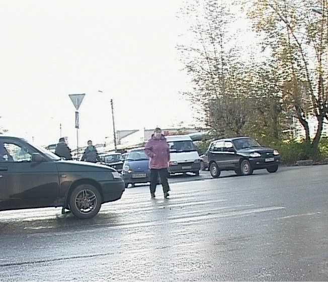 Пешеходы в группе риска