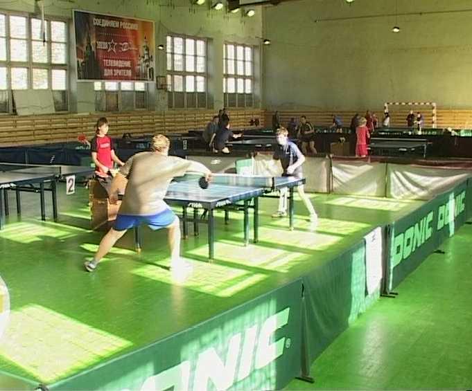 Чемпионат области по настольному теннису