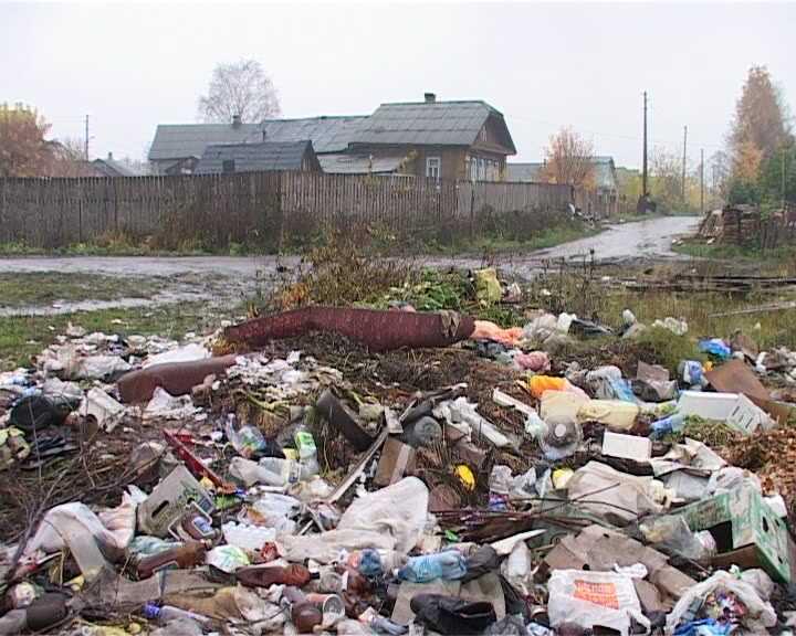 Показательная уборка для жителей поселка Новый