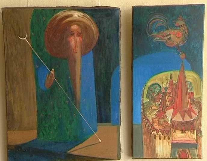Выставка  Игоря Сметанина