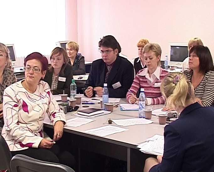Открытый урок в институте повышения квалификации учителей