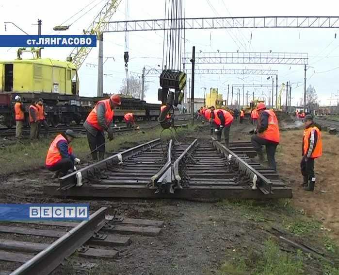 Реконструкция узловой станции