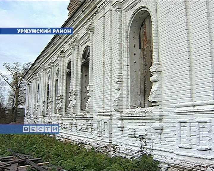 Возрождение храма в селе Петровское Уржумского района