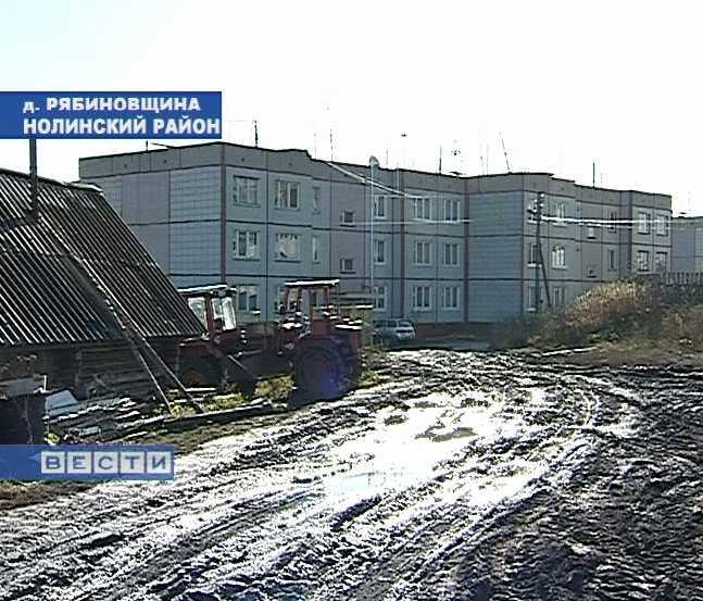 Отопительный сезон в  деревне Рябиновщина продлился месяц
