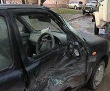 Авария на перекрёстке улиц Солнечной и Производственной