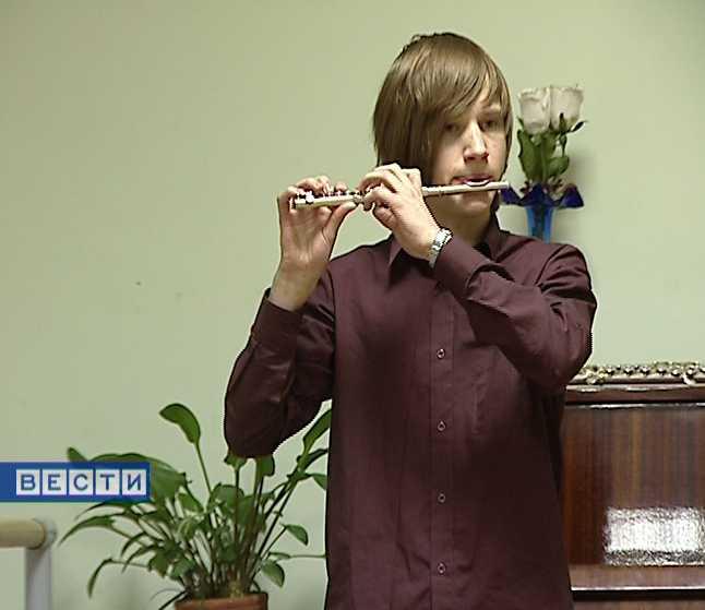 Юный музыкант Алексей Мамаев