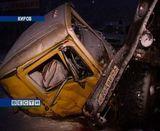 Авария на трассе в районе Нового моста