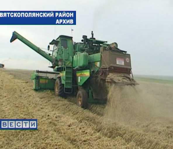 Богатый урожай  не радует вятскополянских земледельцев