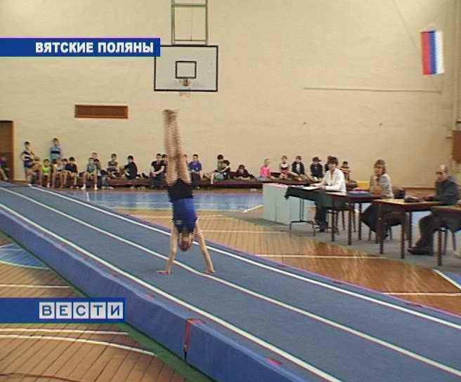 Межрегиональный турнир по прыжкам на акробатической дорожке