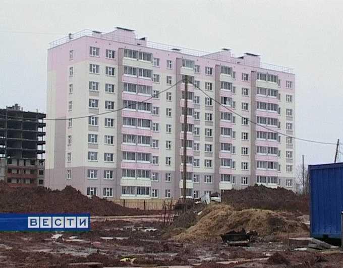 Крупномасштабное строительство в областном центре