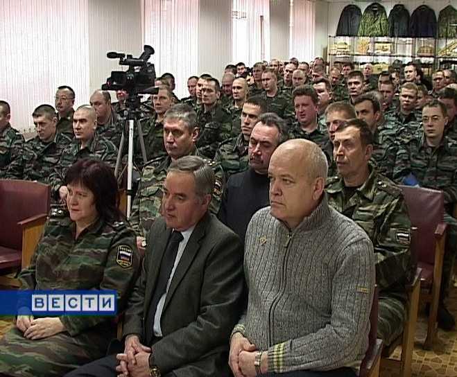 Кировские бойцы  будут  охранять  порядок в Чечне