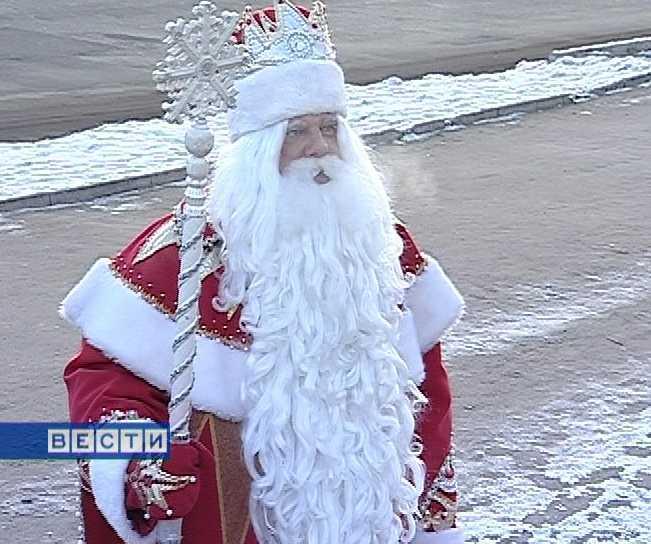 Главный Дед Мороз России прибыл на Вятку