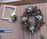 Новогодняя выставка флористов