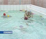 Новый год в бассейне