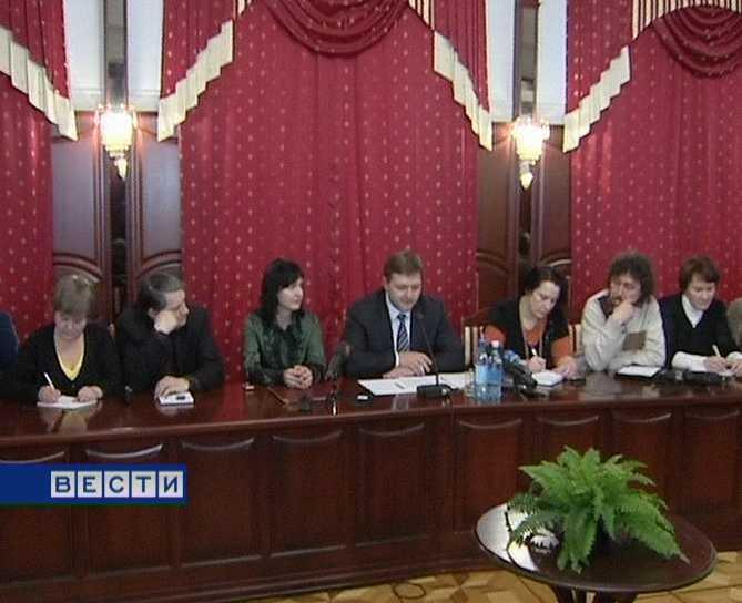 Встреча Никита Белых с редакторами районных газет